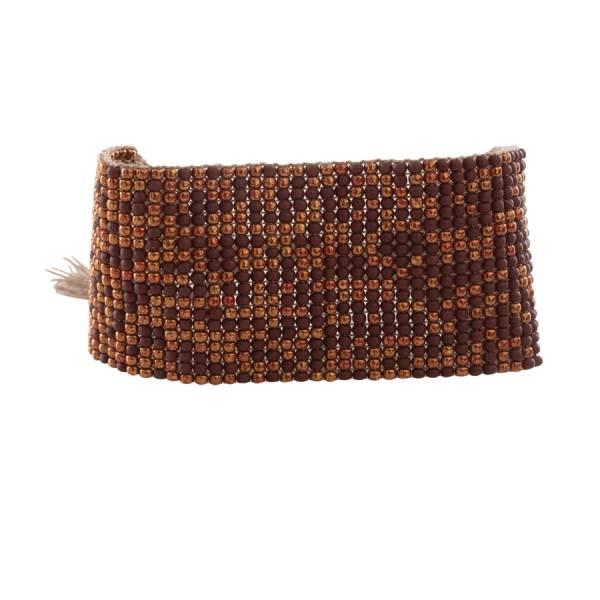 Autumn Garnet Gold Bracelet