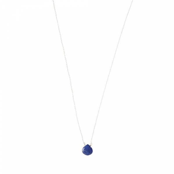 Divine Lapis Lazuli Silver Necklace