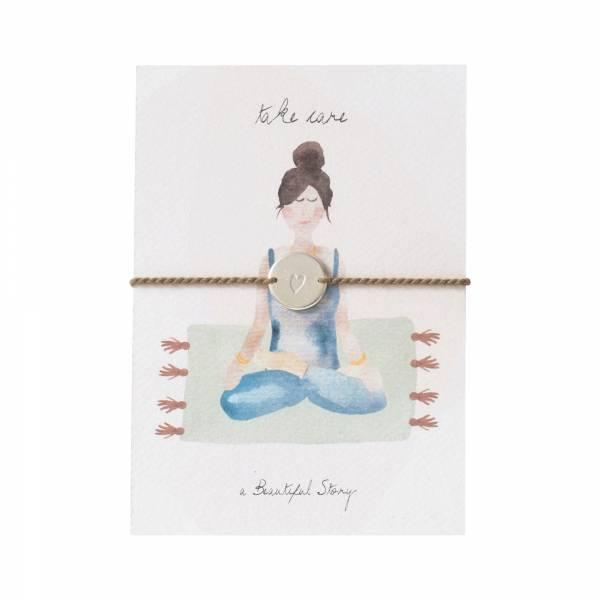 Jewelry Postcard Yoga