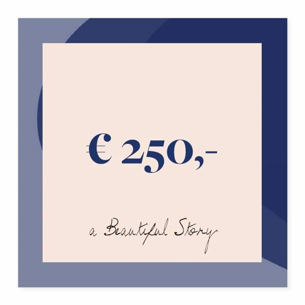 Gift voucher 250 euro