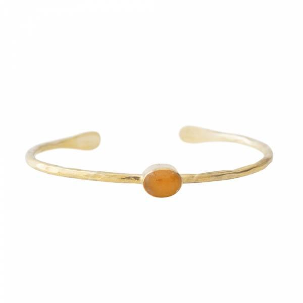 Moonlight Citrine Gold bracelet