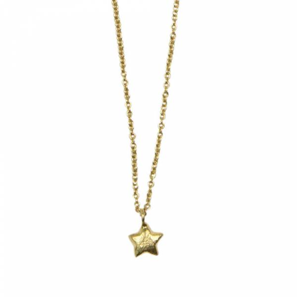 Flow Star Gold Necklace