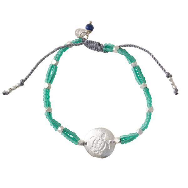 Gratitude Lapis Lazuli Silver bracelet