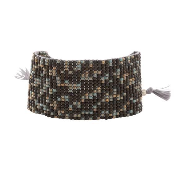 Autumn Labradorite Silver Bracelet