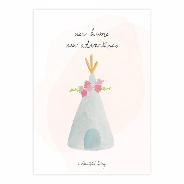 Greeting Card Teepee