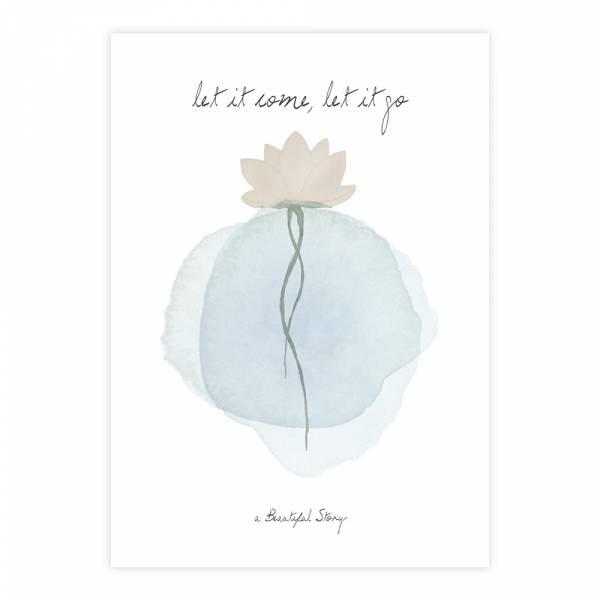 Greeting Card Lotus