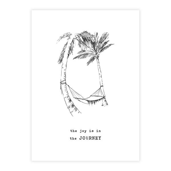 Greeting Card Palmtrees