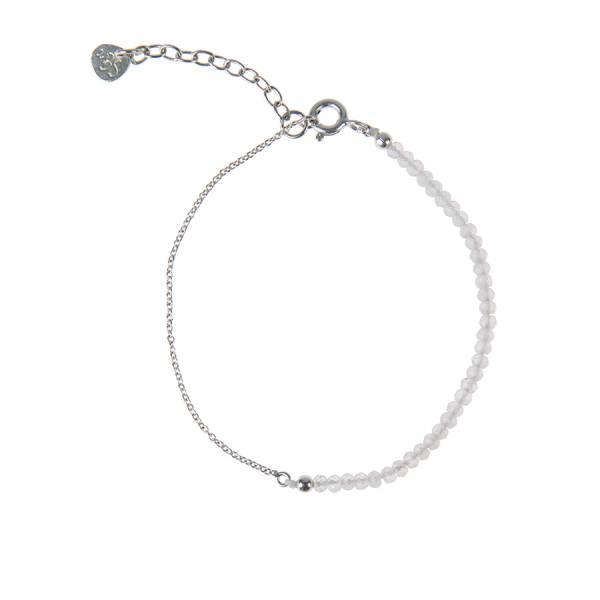 Darling Rose Quartz Sterling Silver Bracelet