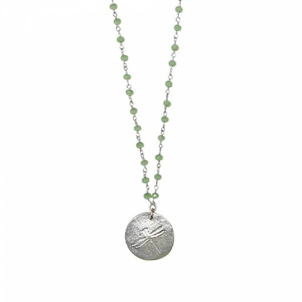 Rosary Green necklace
