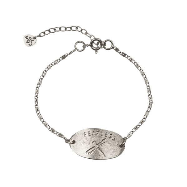 Wish Dragonfly Silver Bracelet