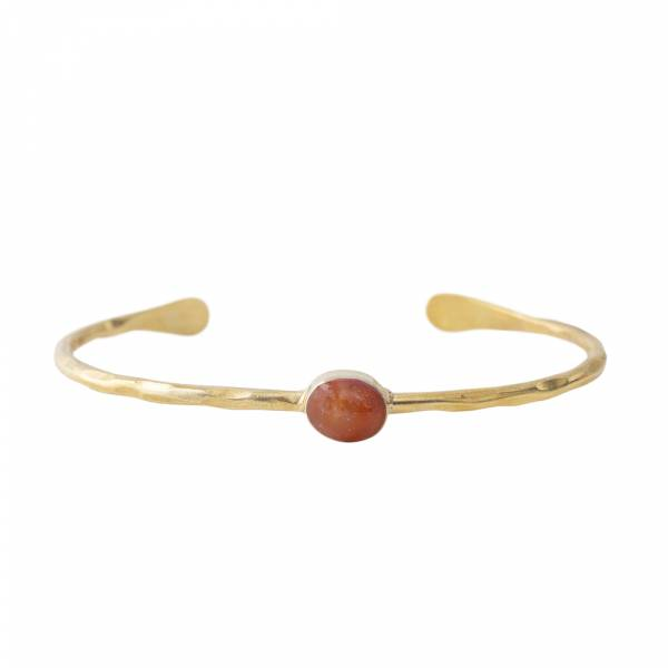 Moonlight Carnelian Gold bracelet