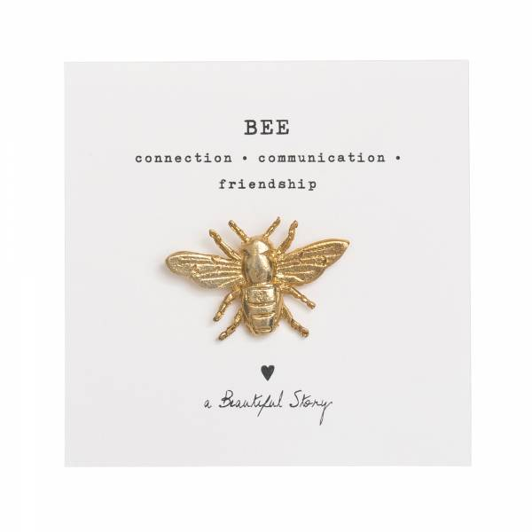 Brooch Bee Gold