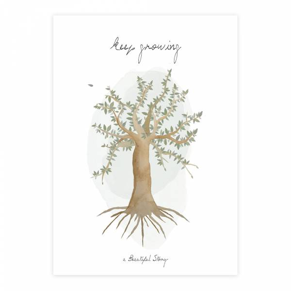 Greeting Card Tree