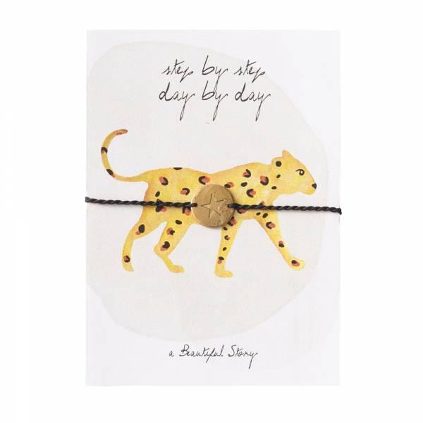 Jewelry Postcard Leopard