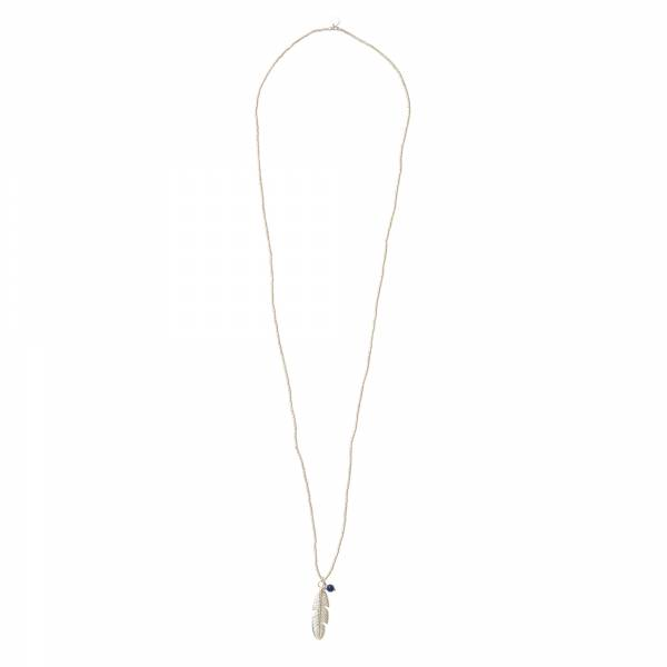 Paradise Lapis Lazuli Silver Necklace