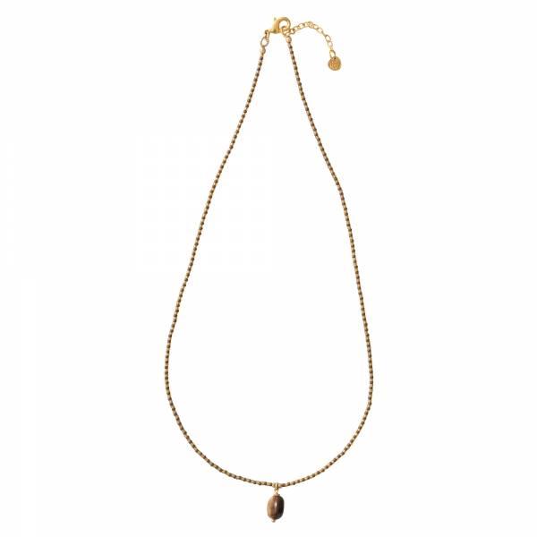Magical Tigerauge Gold Halskette