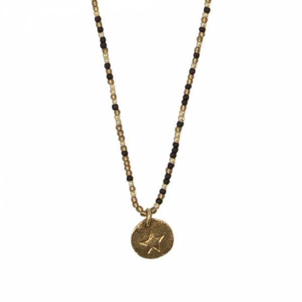 Wonder star gold necklace