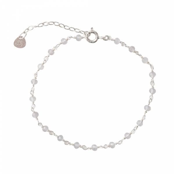 Harmony Rozenkwarts Sterling Zilver Armband