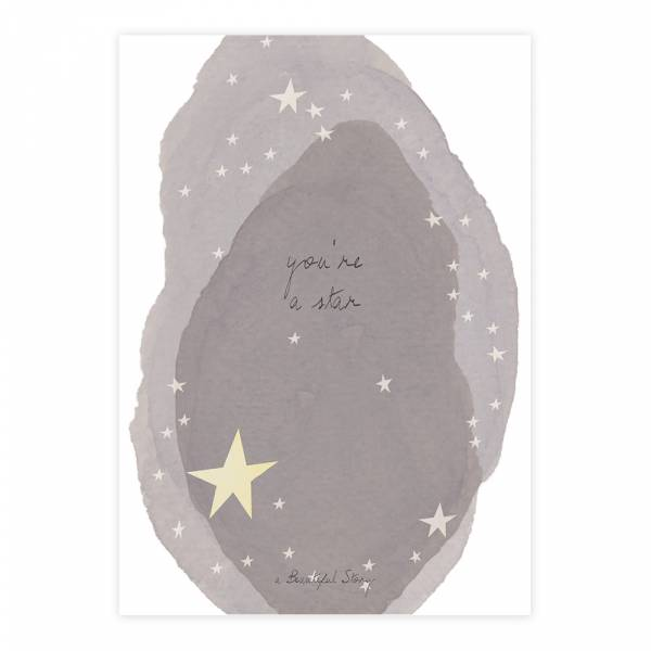 Greeting Card Star