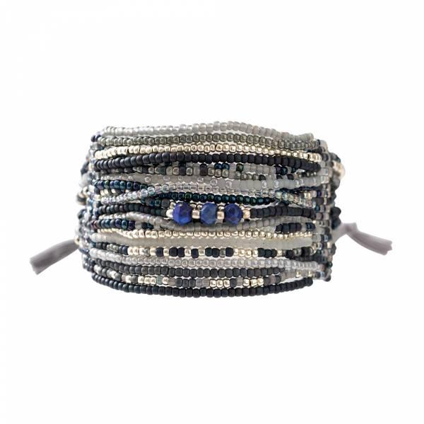 Brilliant Lapis Lazuli Zilver Armband