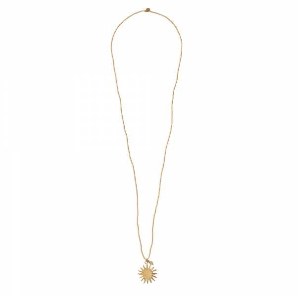 Paradise Citrine Gold Necklace