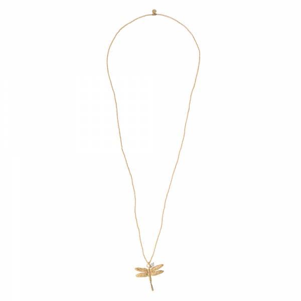 Paradise Mondstein Gold Halskette