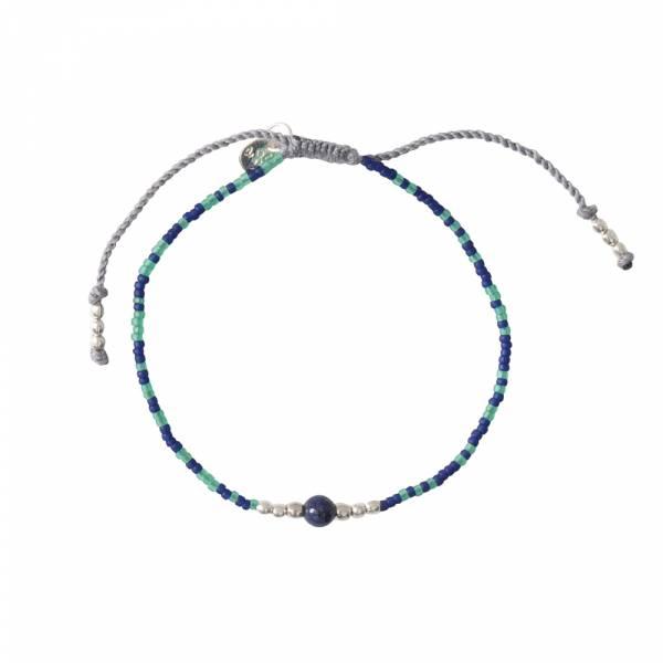 Iris Lapislazuli Silber Armband