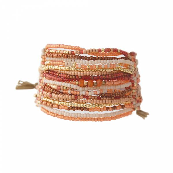 Brilliant Carnelian Gold bracelet