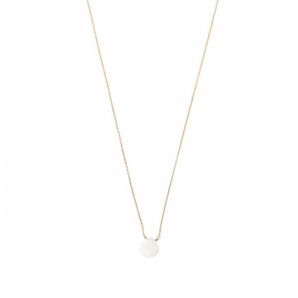 Divine Mondstein Gold Halskette