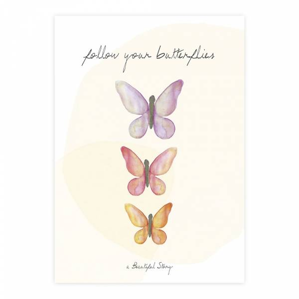 Greeting Card Butterflies