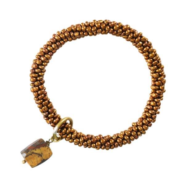 Classic Tijgeroog Goud Armband