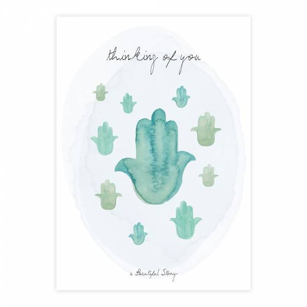 Greeting Card Hands