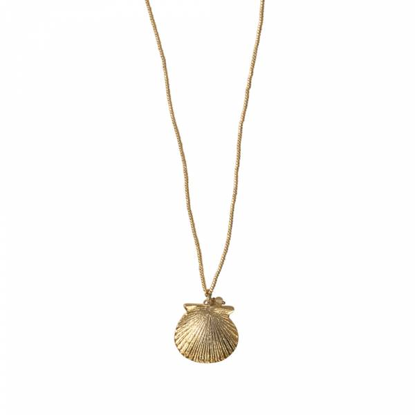 Paradise Citrien Goud Ketting