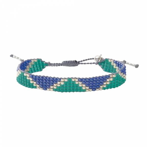 Flare Lapis Lazuli Zilver Armband