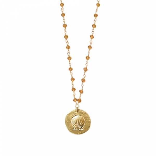 Rosary Orange necklace