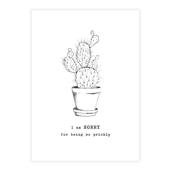 Greeting Card Cactus