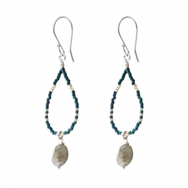 Enjoy Labradorite Silver earrings