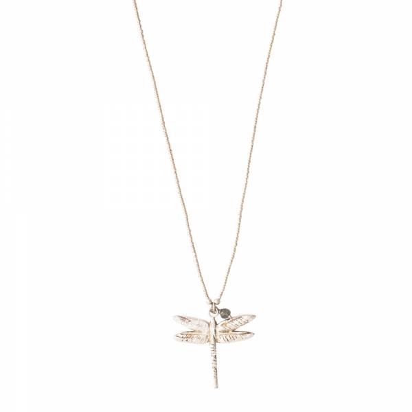 Paradise Labradorite Silver Necklace
