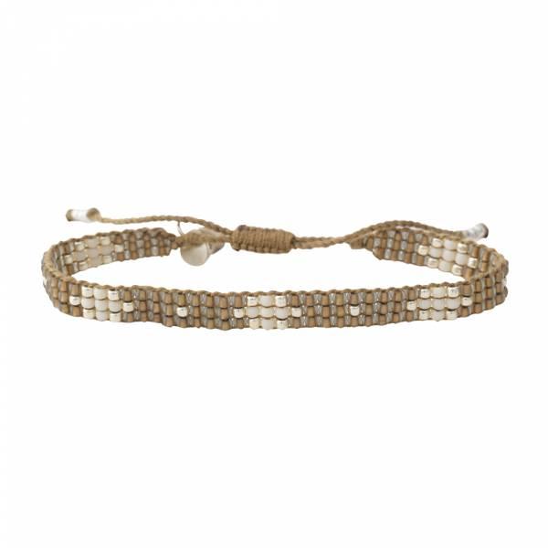 Summerlight Smokey Quartz Silver bracelet