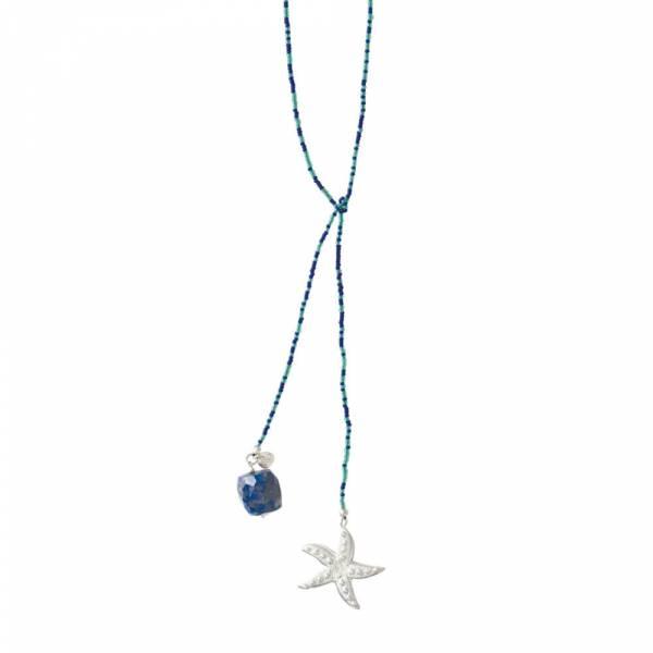 Nova Lapis Lazuli Silver necklace