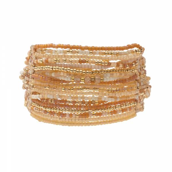 Brilliant Citrine Gold Bracelet