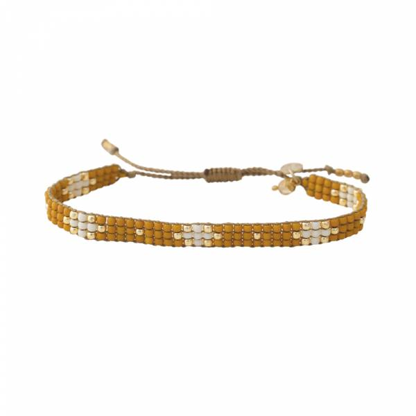 Summerlight Citrien Goud Armband
