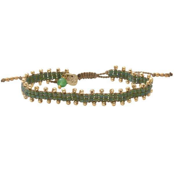Happiness Aventurine Gold Bracelet