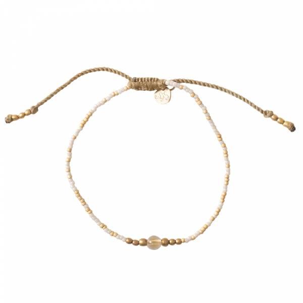 Iris Citrine Gold bracelet