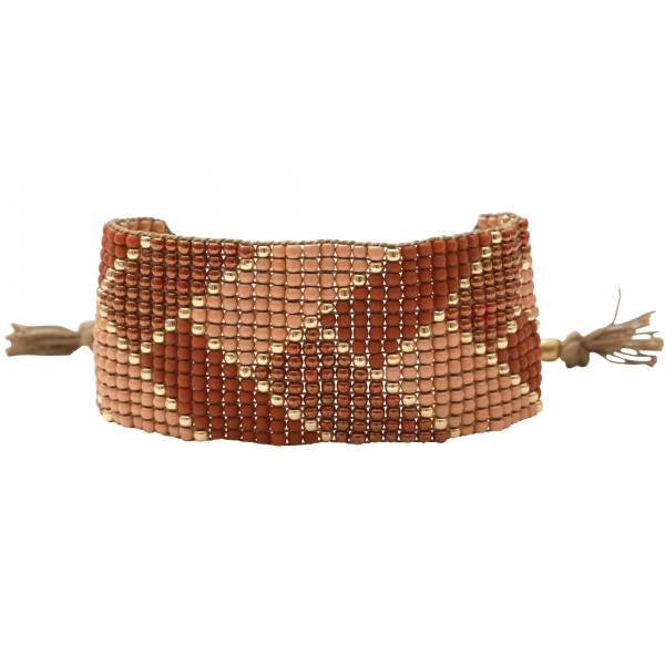 Willow Carneool Goud Armband
