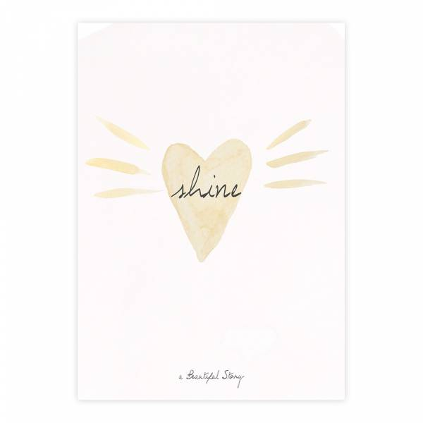 Greeting Card Loveshine