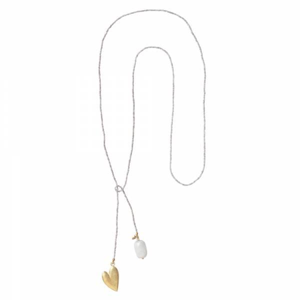 Nova Mondstein Gold Halskette