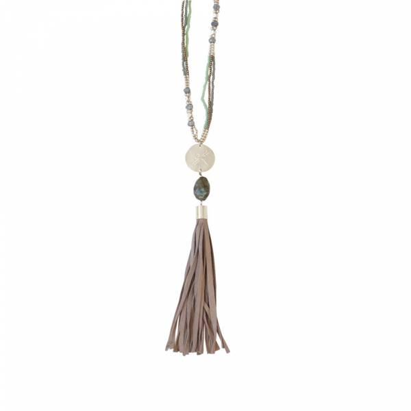 Easy Labradorite Necklace