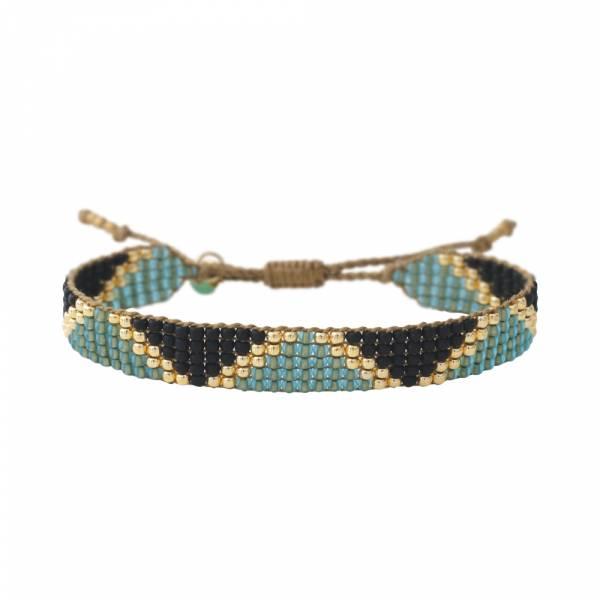 Flare Aventurine Gold bracelet
