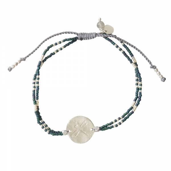 Glitter Labradorit Silber Armband